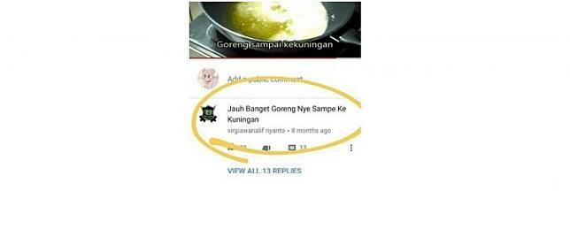 10 Komentar absurd warganet di YouTube ini endingnya kocak