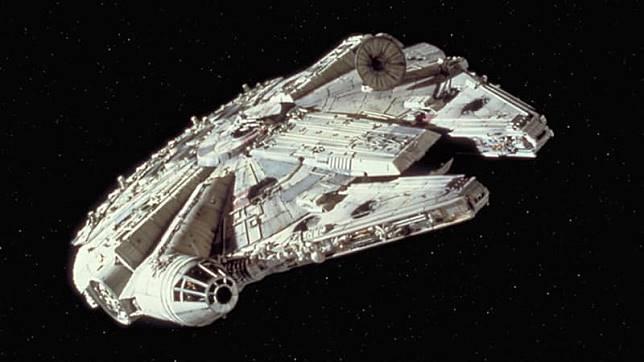 Millenium Falcon di 'Star Wars'. (Foto: Star Wars)