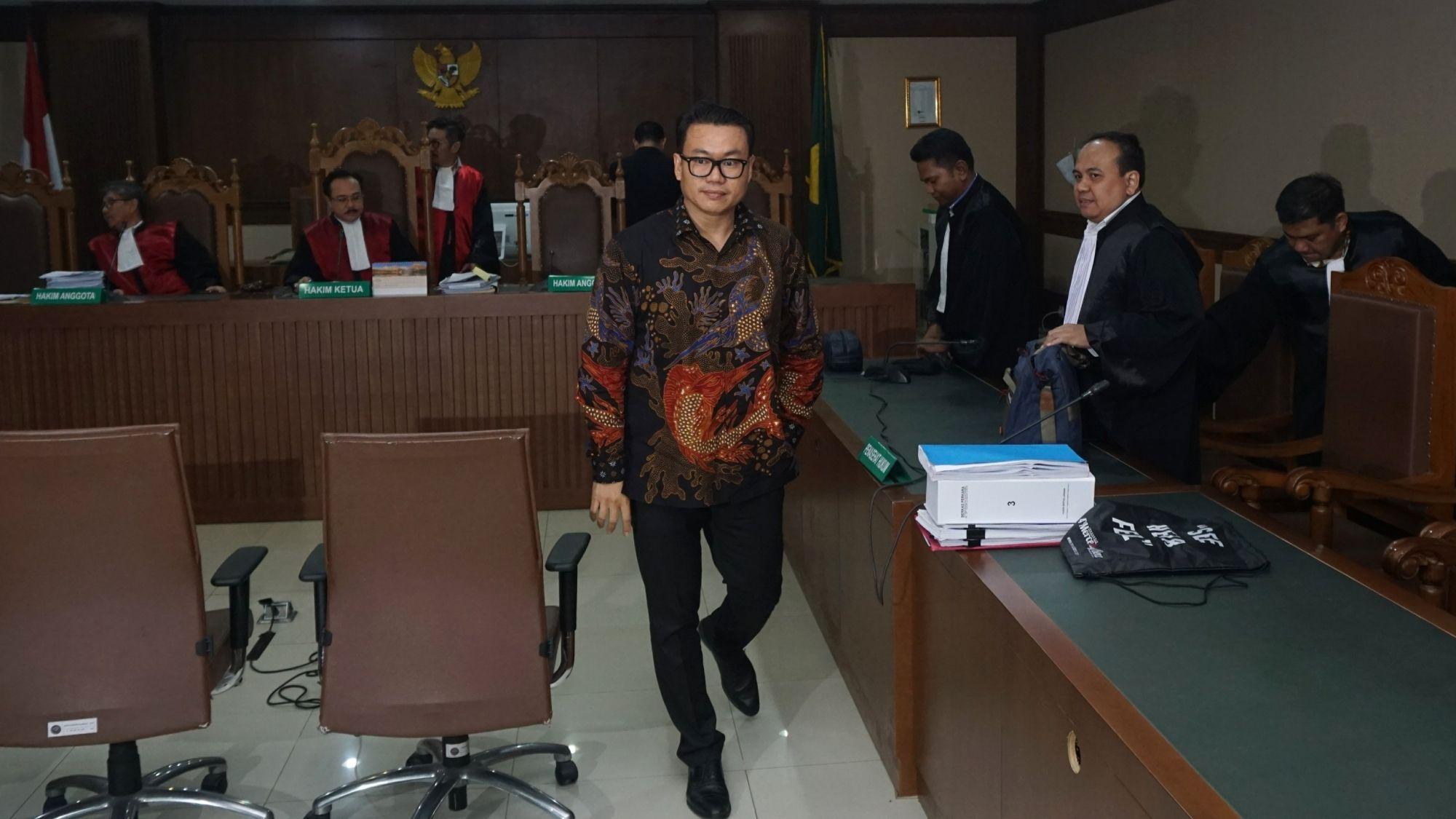 KPK Eksekusi Eks Dirut Perum Perindo Risyanto Suanda ke Lapas Sukamiskin