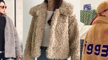 一穿就有軟萌感,讓人忍不住摸一把的「熊寶寶」外套!