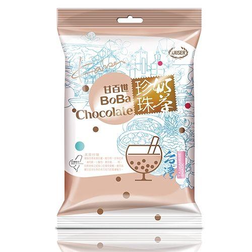 甘百世珍珠奶茶巧克力140g【愛買】