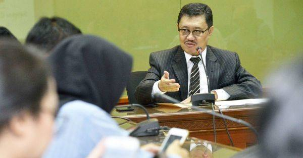 Ketua Bidang Rekrutmen Hakim Komisi Yudisial (KY) Aidul Fitriciada Azhari