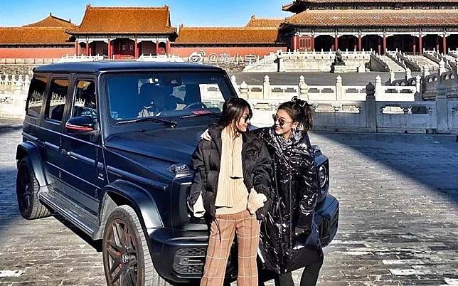 Beijing's Forbidden City sparks fury after allowing pair to flout car ban inside World Heritage Site