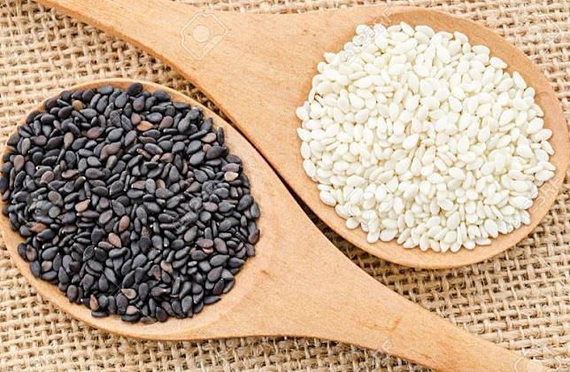 芝麻含有豐富硒質,有助人體製造免疫蛋白。(互聯網)