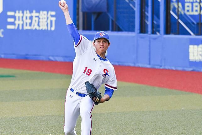 ▲世界棒球12強,中華隊投手張奕。(圖/記者葉政勳攝 ,