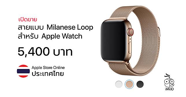 Milanese Loop For Apple Watch Series 4 Apple Store Online Th