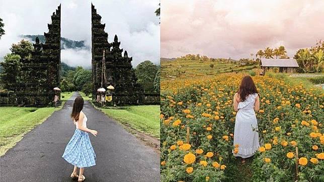 Inilah 4 Destinasi Instagramable di Bali, Ada Handara Iconic Gate