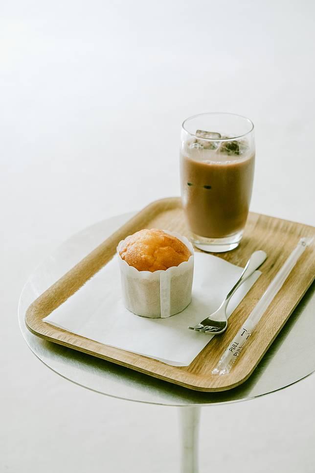 以豐島梯田種植的稻米來製成的鬆餅,味道天然純粹。
