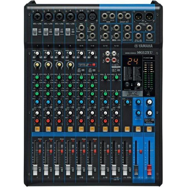 無論它的功能、音質或操作介面是其他廠牌同軌數Mixer中,音質佳、功能最為實用的混音器,其他如單軌監聽、Pre前置音源、Group1-2群組輸出、Insert In/out.......等,很適合Pu