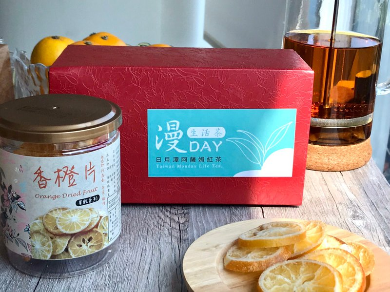 阿薩姆紅茶袋茶包2.5g*20入+(香蒜/香橙/芭樂乾)選1