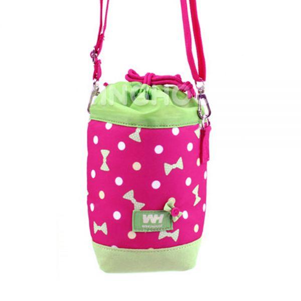 米蘭Zoom WG0024迷你織帶水瓶十字架(粉色)