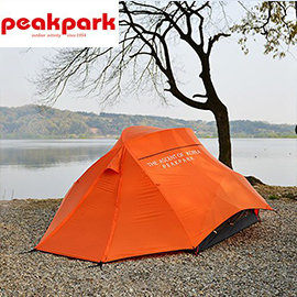 丹大戶外【peakpark】雙魚座觀星六人帳 甜橙橘 六人帳篷 220*250*160