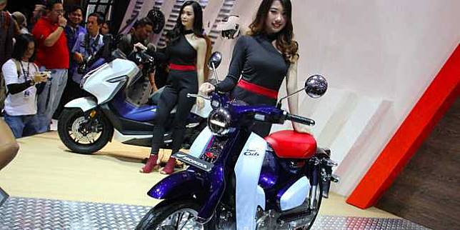 Honda Super Cub 125 (Otosia.com/Nazarudin Ray)