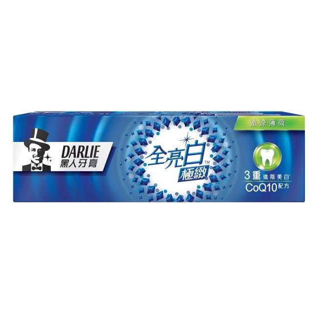 黑人全亮白極緻沁涼薄荷牙膏 120g