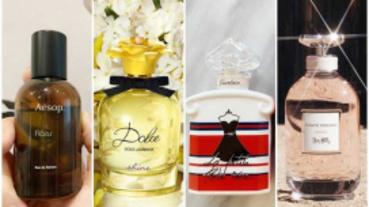 今年春天必入手的香氛新寵是它們!Aesop首支中性玫瑰香、全台限量100瓶的嬌蘭小黑裙!全都想要阿~
