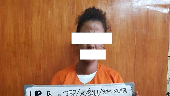 Kuta Police arrest Mauritanian woman for allegedly stealing credit card and spending IDR400 million in Bali