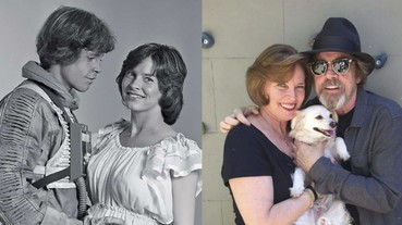 《星際大戰》天行者路克馬克·漢米爾,「原力」加持 40 年愛妻始終如一!?