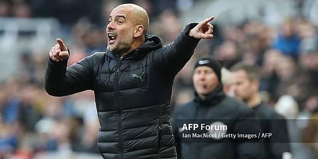 Pep Guardiola Minta Pemainnya Tetap Fokus Dalam Berburu Gelar