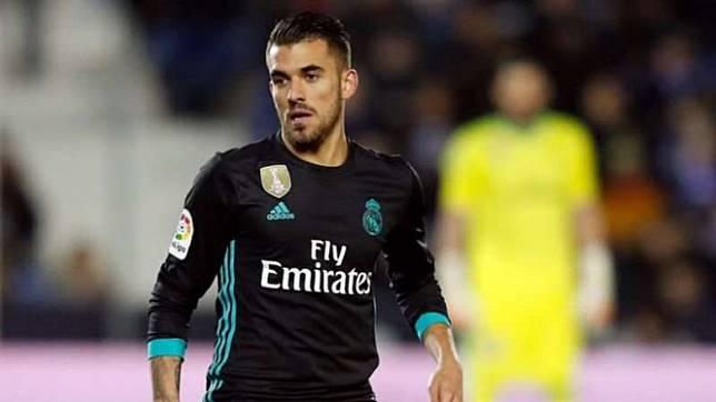 Gelandang Real Madrid, Dani Ceballos