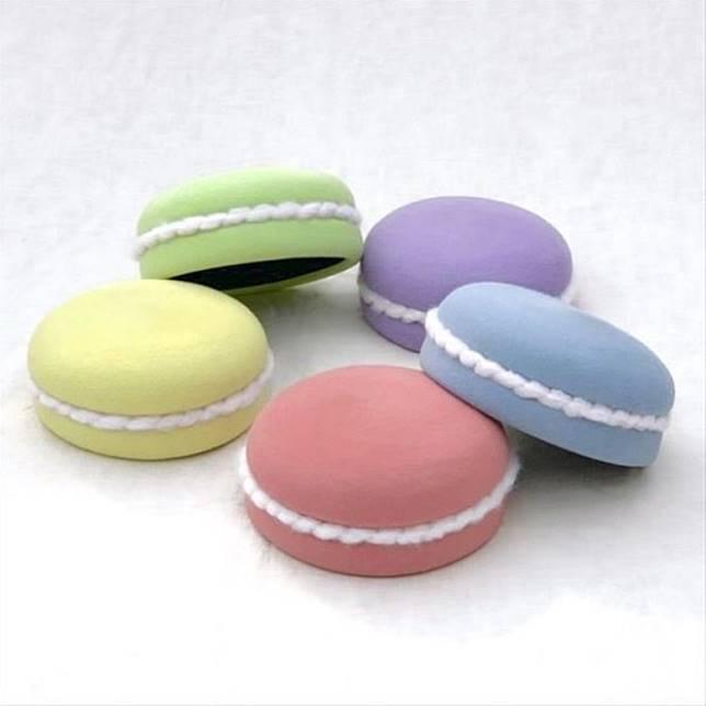 女生們肯定好想擁有這繽紛可愛的Macaron帽子吧!(互聯網)