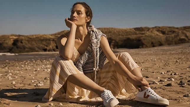 此外還有由非洲超模Liya Kebede推出的環保品牌LEMLEM,以及美國品牌MARA HOFFMAN和法國波鞋品牌VEJA。(互聯網)