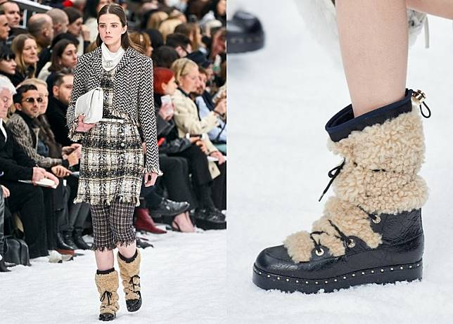 Chanel的毛毛版設計不難成為女生搶購目標。(互聯網)