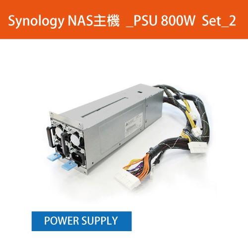 Synology NAS主機_PSU 800W-RP SET_2描述: Redundant Power Set 800W適用型號: RS4017xs+保固:3個月*購買前,請務必確認商品是否適用*