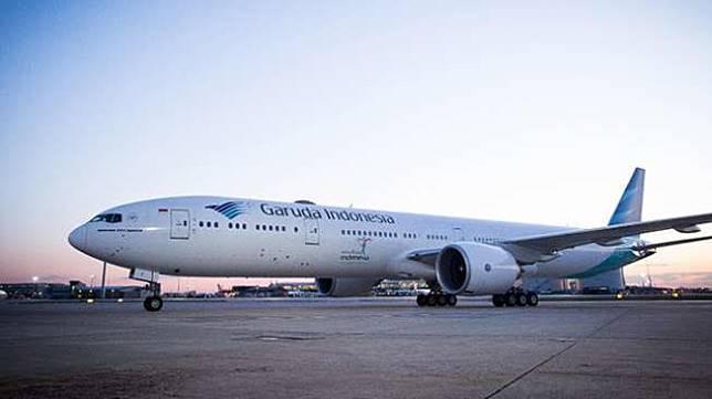 Pesawat Garuda Indonesia. [Dok HIPMI]