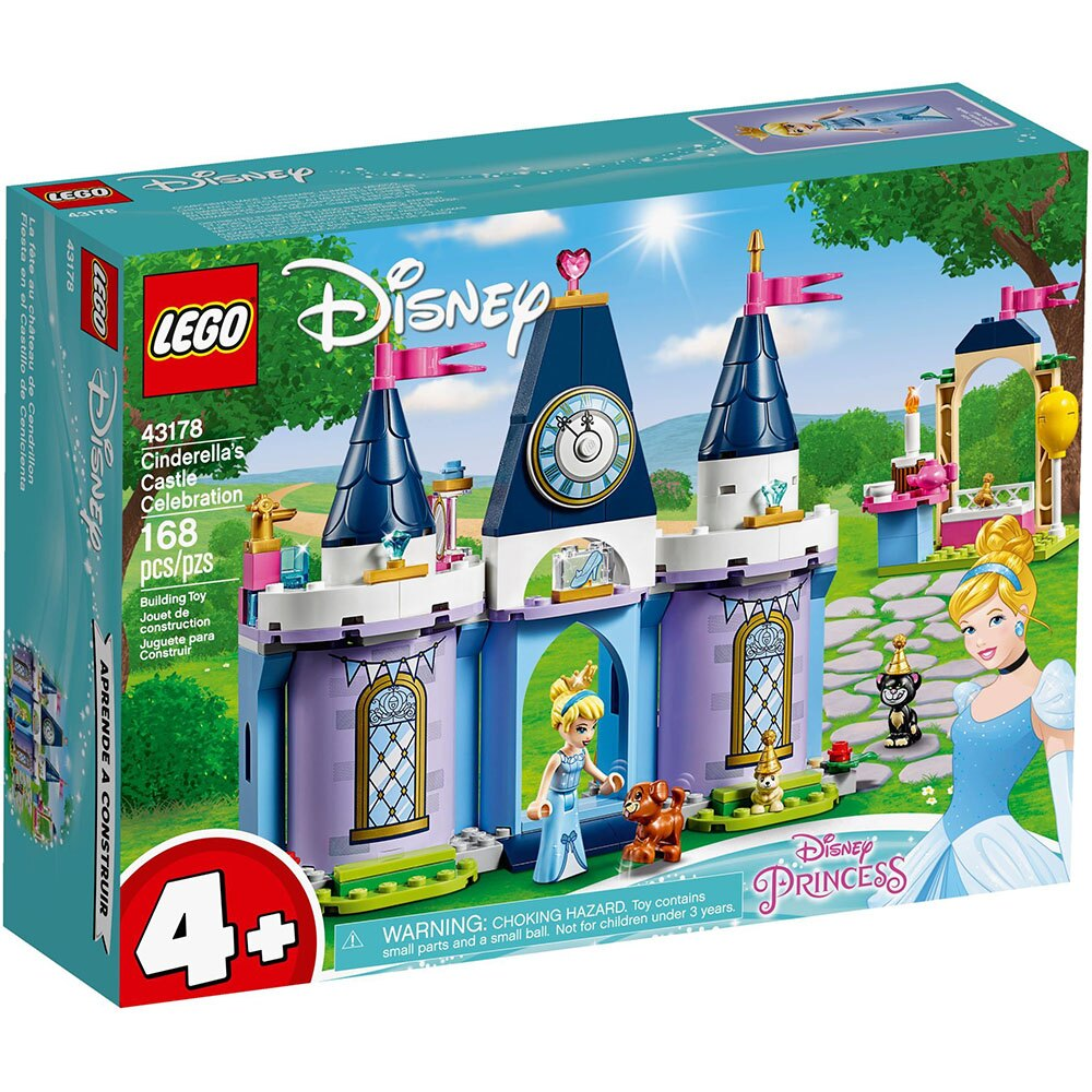 樂高LEGO 43178 迪士尼公主系列 - Cinderella s Castle Celebration