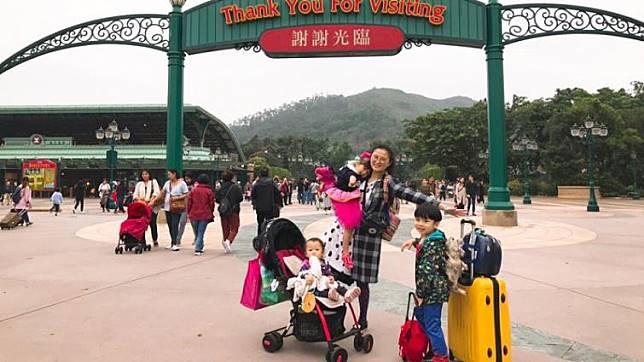 孩子的童年不能等!這位媽媽居然辦到一打三帶孩子遊迪士尼