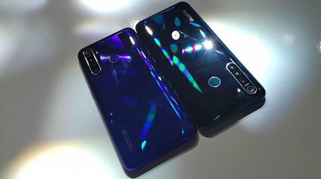 Realme 5 dan Realme 5 Pro diluncurkan di Jakarta, Kamis (19/9/2019). [Suara.com/Tivan Rahmat]