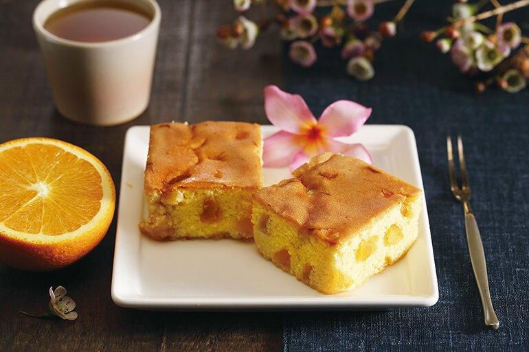 法式香橙磅蛋糕