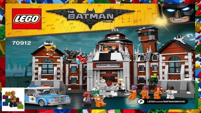 LEGO 70912 蝙蝠俠 電影 阿卡姆瘋人院 Arkham Asylum Batman