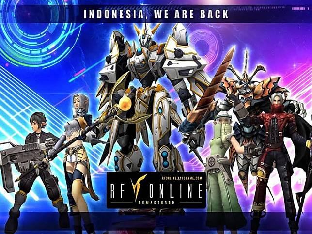 Game Online Penghasil Uang RF Online: Remastered