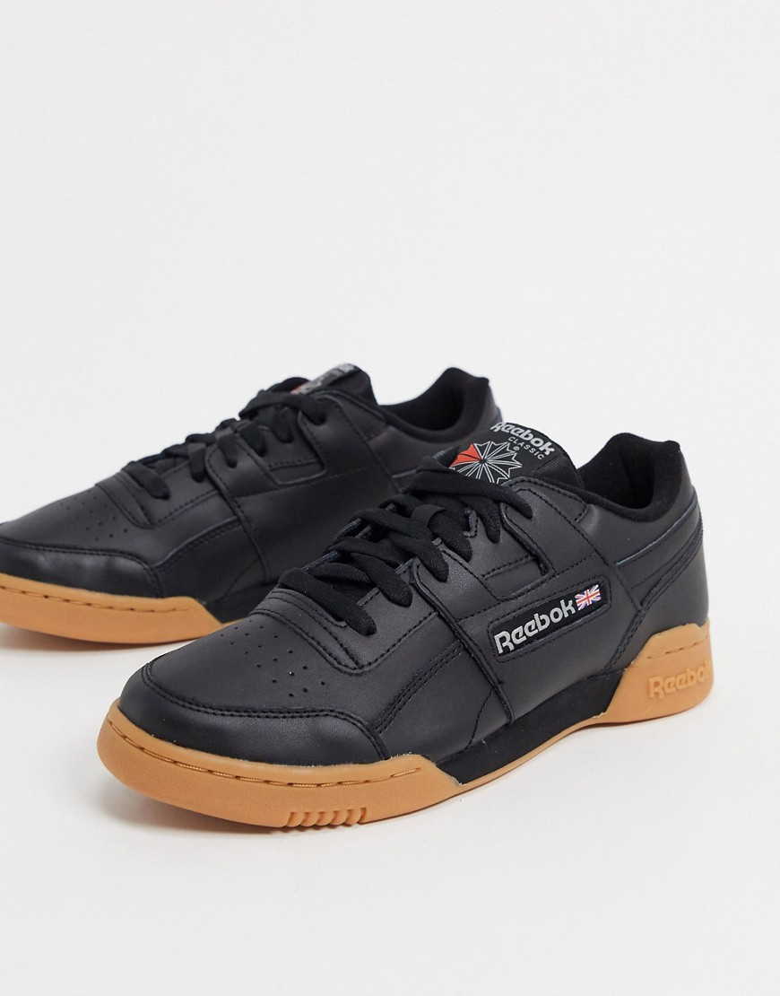 Trainers by Reebok If in doubt, trainers Low-profile design Lace-up fastening Padded tongue and cuff