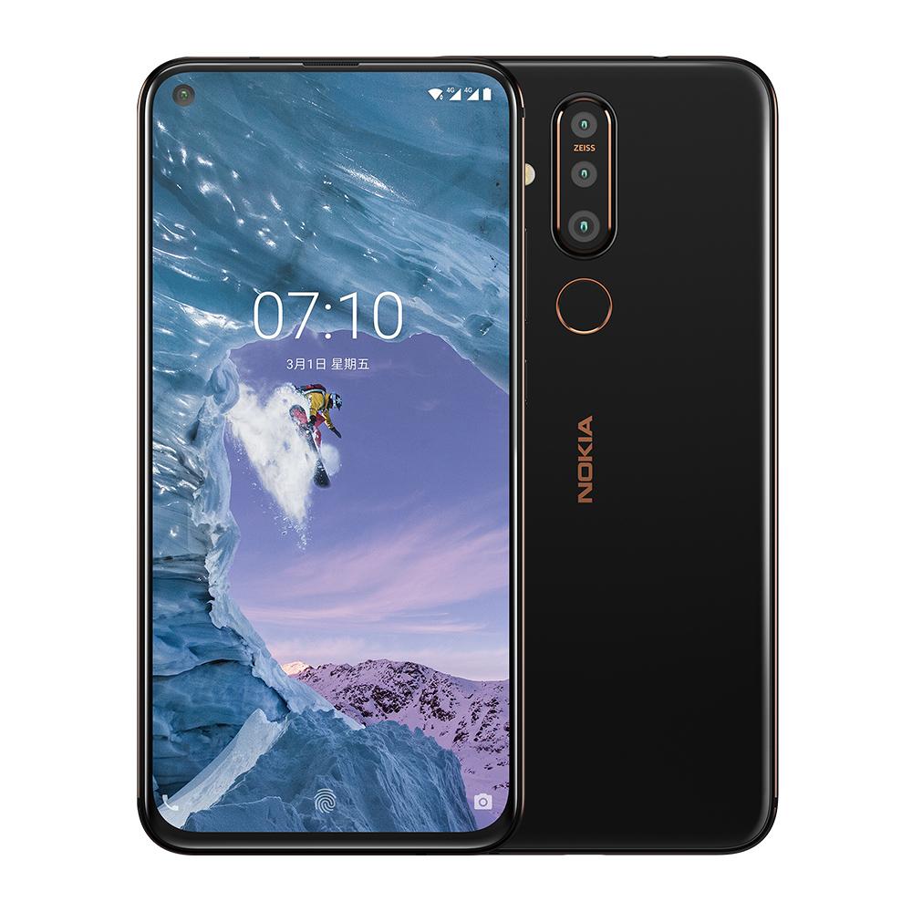 NOKIA X71 (6GB/128GB) 全螢幕三鏡頭智慧機 (贈入耳式立體聲耳機+透明保護殼)