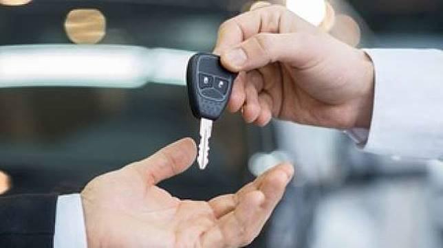 Ilustrasi penjualan mobil. Shutterstock