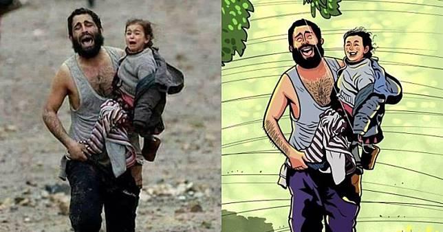 10 Ilustrasi 'jika dunia tanpa perang' ini pesannya bikin haru