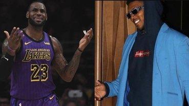 詹皇也黑人問號!Off-White 竟認錯 LeBron James,Nick Young 幽默回應:「我也是皇帝了」