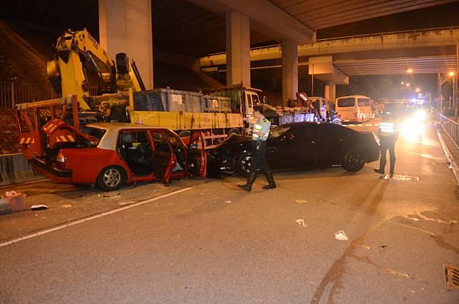 警方正調查車禍原因。