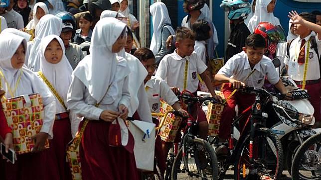Ilustrasi Masa Orientasi Siswa (MOS). ANTARA FOTO/Oky Lukmansyah