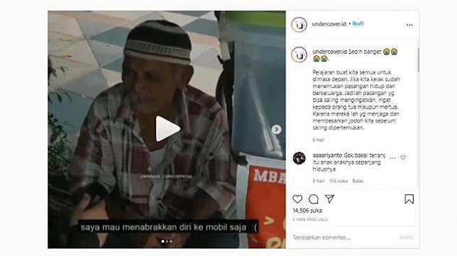 Video Ngaku Ditelantarkan Anaknya Viral, Kini Mbah Seger Dikabarkan Wafat