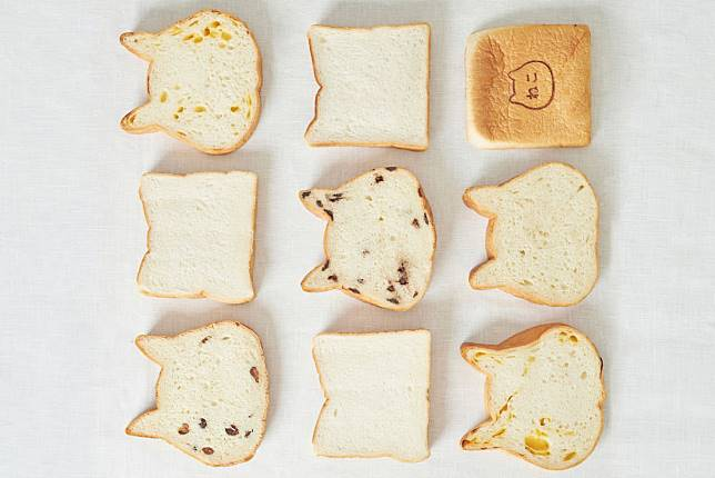 ขนมปังรูปแมว