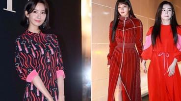 好漂亮!潤娥《最新穿搭》與師妹Irene、SeulGi 一同出席VLTN限定展開幕!