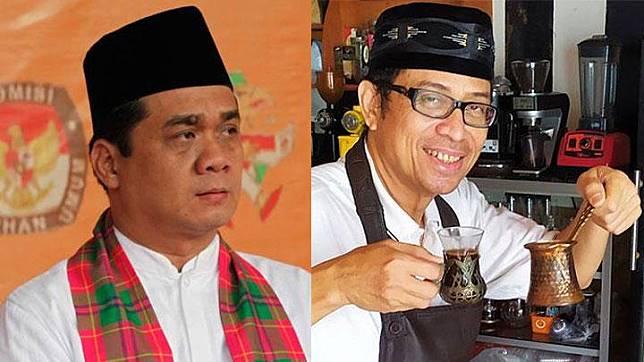 Ahmad Riza Patria dan Nurmansjah Lubis. Dok.Tempo / Dok.Pribadi
