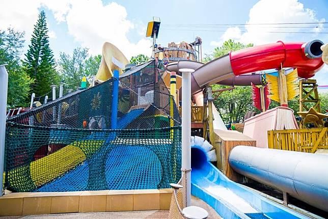 在美國佛羅里達州環球影城內,有一個區域名為Fievel's Playland!(互聯網)