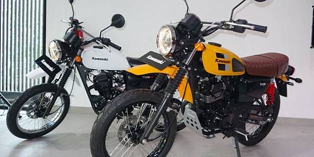 Kawasaki W175 TR (Otosia.com/Nazarudin Ray)