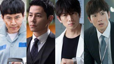 《醫生耀漢》池晟演技被讚爆,9位演技派演員新舊角色對比,最後一位超強,演殺人犯、傻萌PD都沒違和感