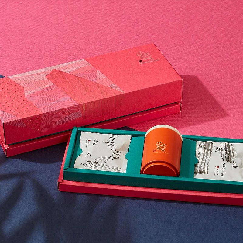 芸香四繹 茶葉禮盒B款 - 台灣特色烏龍茶、台灣代表性烏龍袋茶包