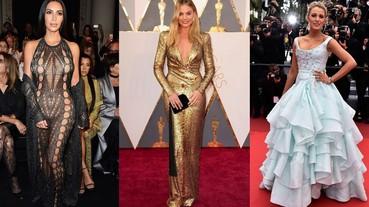 2016 年最令人印象深刻的洋裝 盤點13 件禮服的秘密